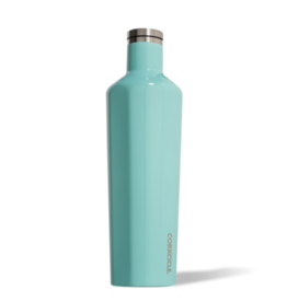 25oz Canteen in Gloss Turquoise