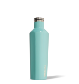 16oz Canteen in Gloss Turquoise