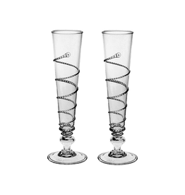 Juliska Amalia Set/2 Champagne Flutes Still needs 2!