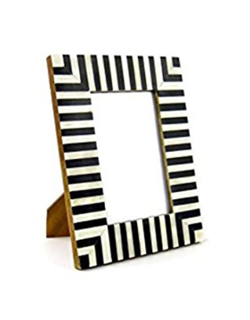 "Striped Frame, 4x6"""