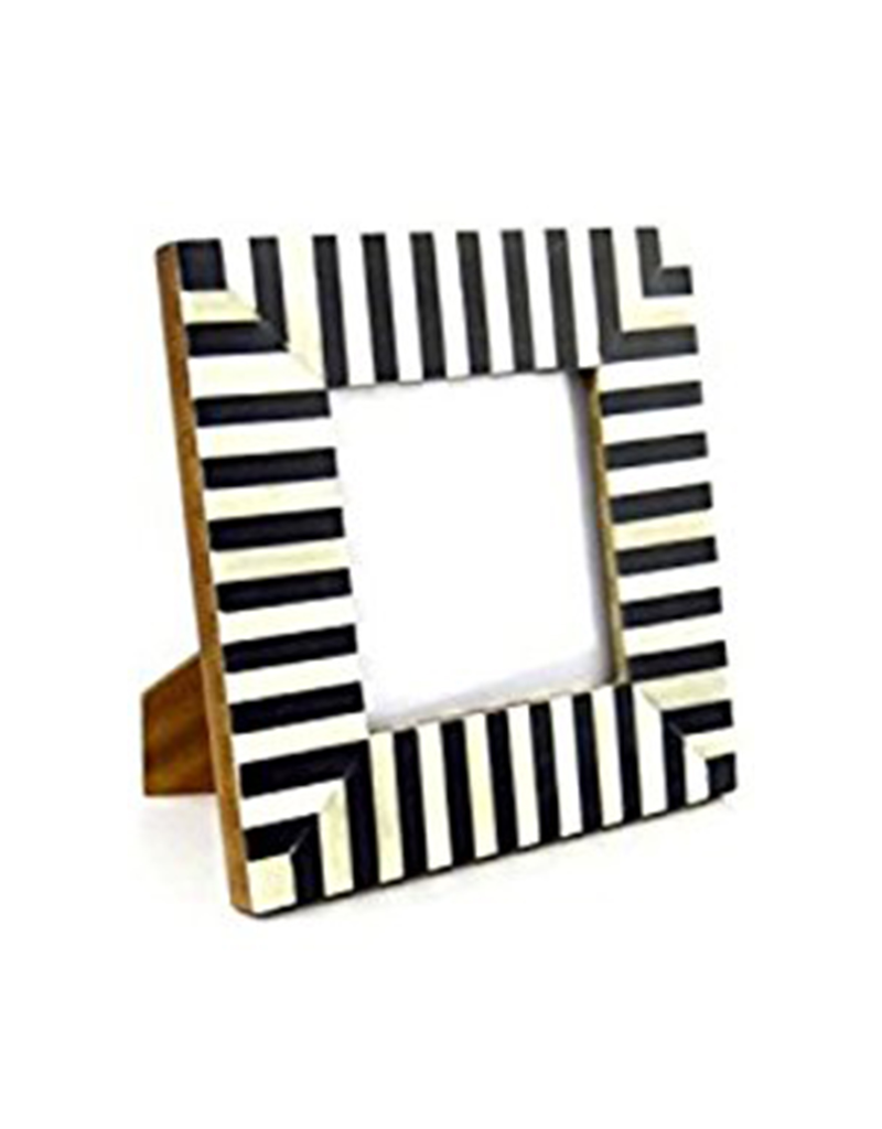 Square Striped Frame