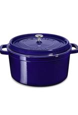 7 Quart Round Cocotte in Navy Blue
