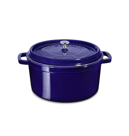 7 Quart Round Cocotte in Navy Blue
