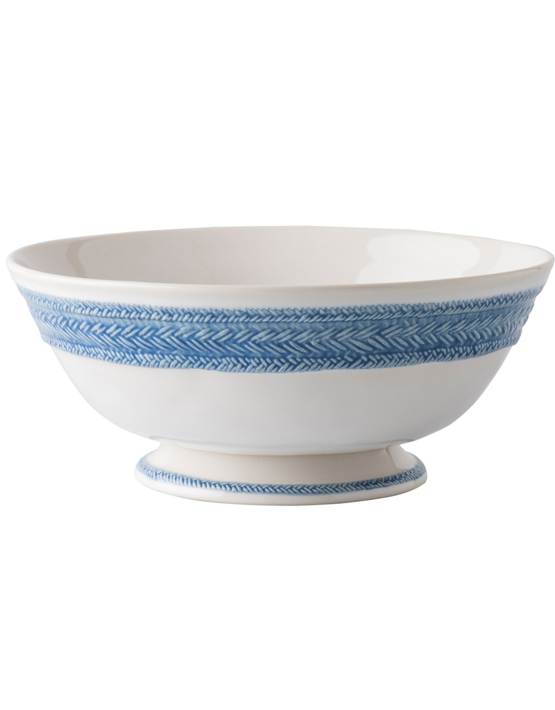 Blue Le Panier Serving Bowl