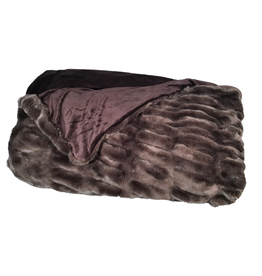 Fabulous Furs Faux Fur Throw