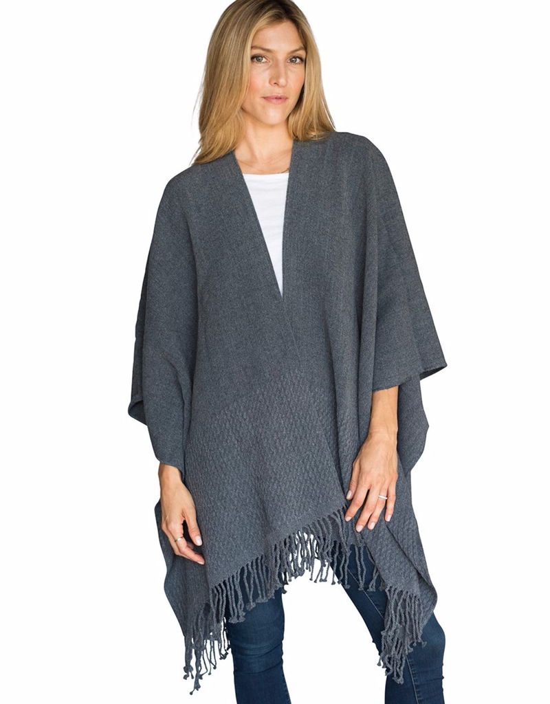 Mer Sea Co. Storm Grey Travel Wrap