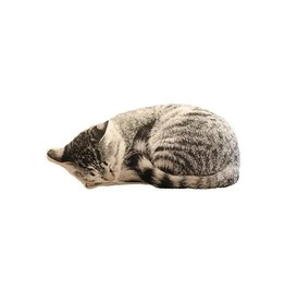 Faire Sleeping Cat Decorative Pillow
