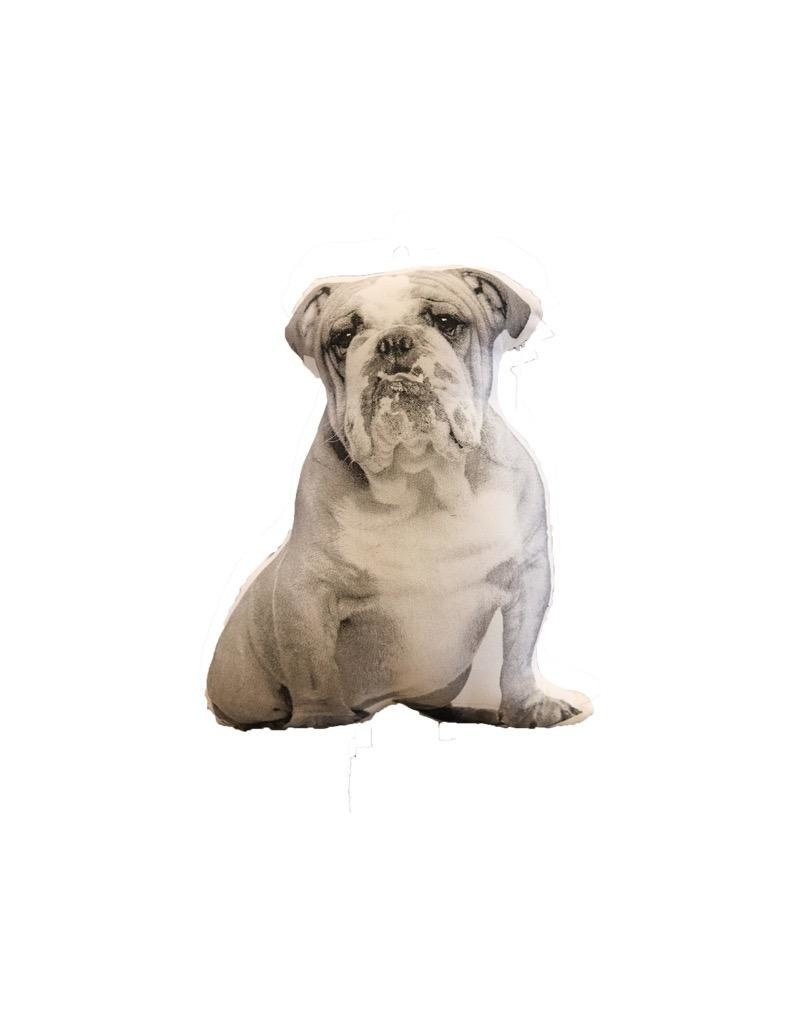 Faire Bulldog Decorative PIllow
