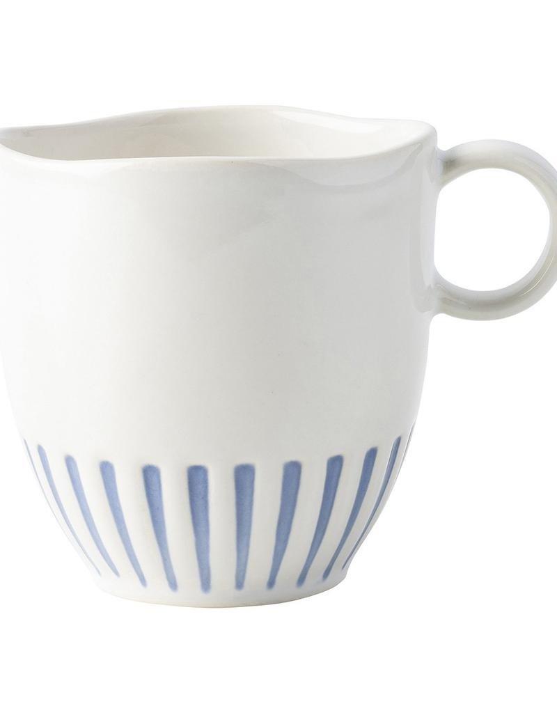 Still Need 6 - Juliska Sitio Stripe Indigo Mug