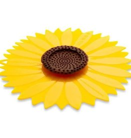 Chas Viancin Silicone Lid Sunflower 9""