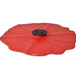 Chas Viancin Silicone Lid Poppy 11""