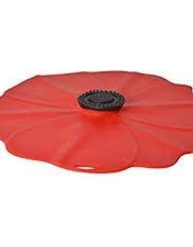 """Chas Viancin Silicone Lid Poppy 11"""""""
