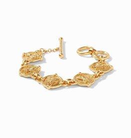 Bee Link Bracelet Gold