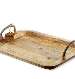Rope Handled Tray