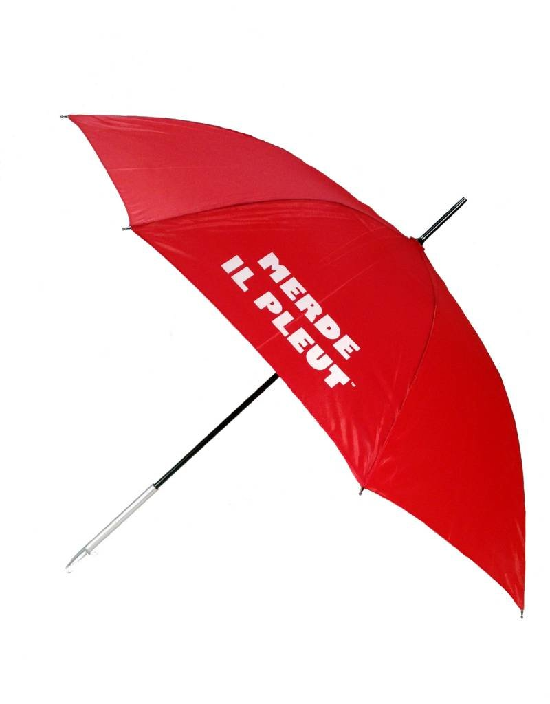 CarefulPeach Boutique Red Umbrella With Metal Handle