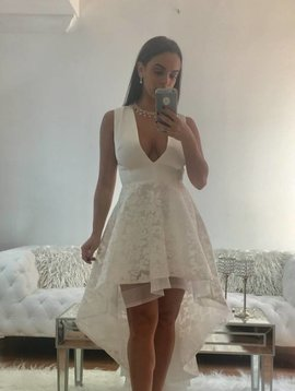 Sexy High Low Lace Dress