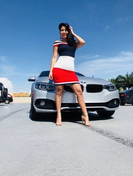 Sexy Striped Mini Dress