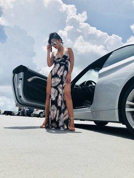 Sexy Open Slits Long Dress