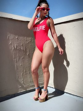 #Selfie Bathing Suit