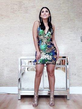Sexy Sequins Mini Dress