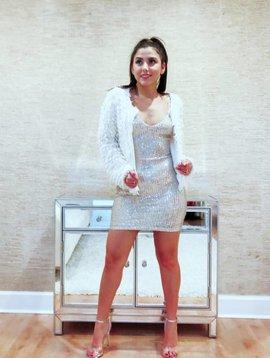 Sexy Sequin Mini Dress