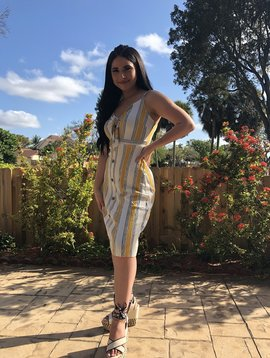 Sexy Striped Summer Dress