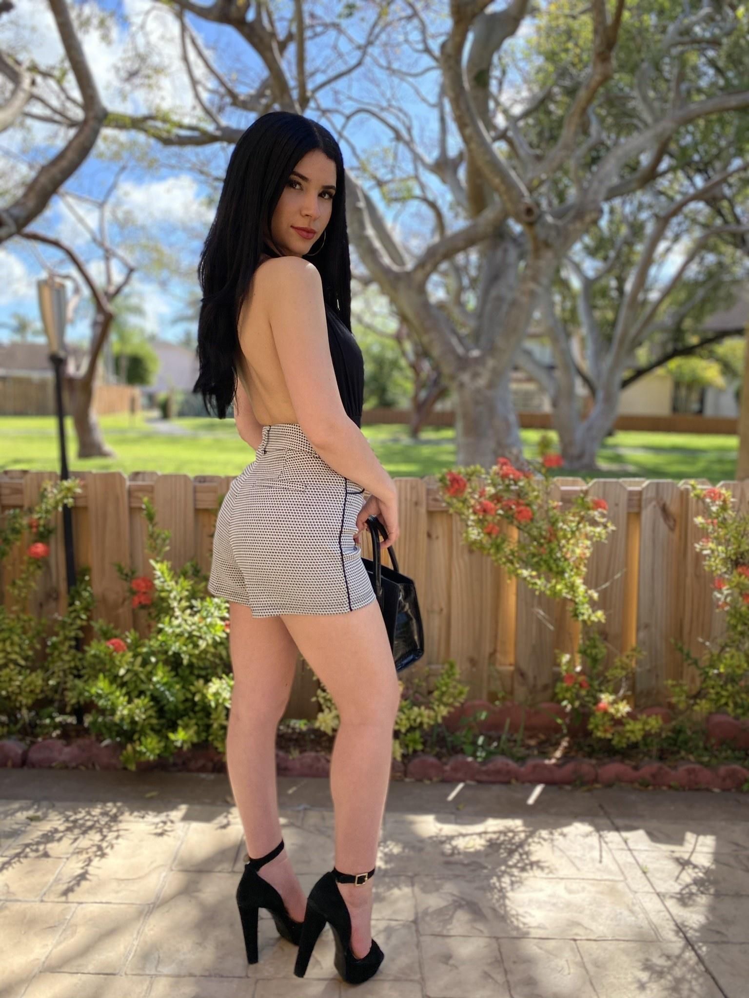 High Waisted  Woven Shorts