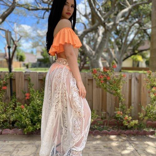 Beach Lace Skirt