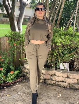 Casual Set Lounge  Sweater And Pants