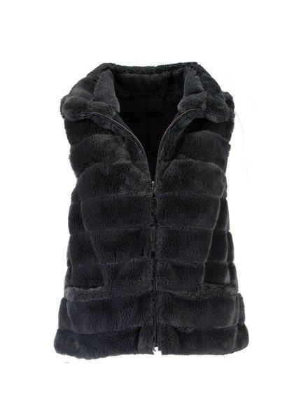 Reversible Fur Love Vest