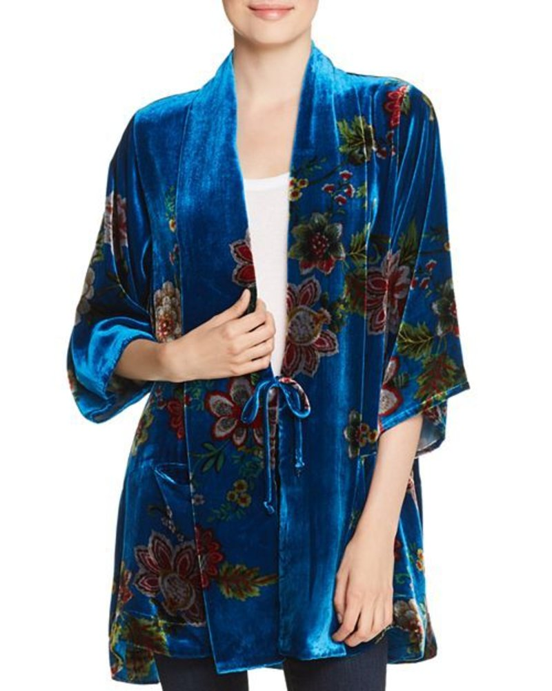 Johnny Was Vivian Velvet Kimono