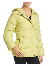 Eileen Fisher Quilted Recycled Nylon Down Coat