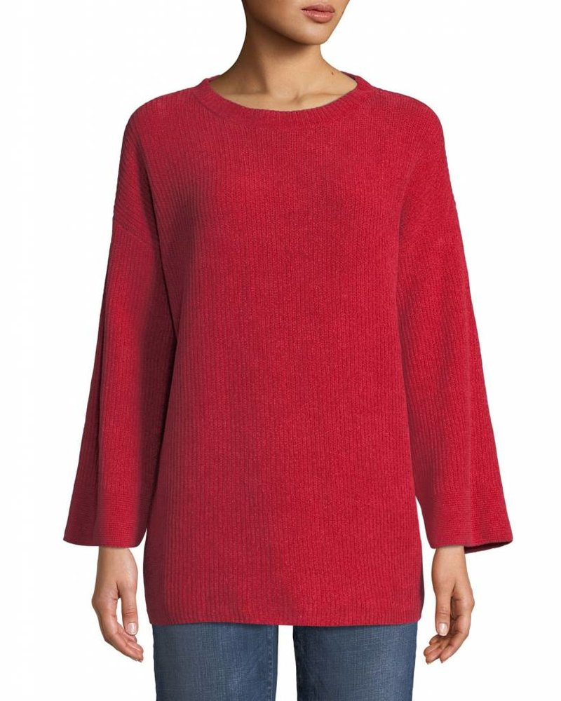 Eileen Fisher Org. Cotton Chenille Rnd Nk Top