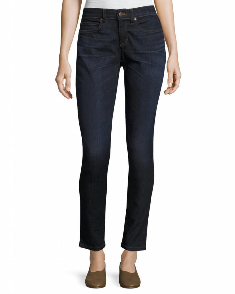 Eileen Fisher Org. Cotton Stretch Slim Ankle Jean