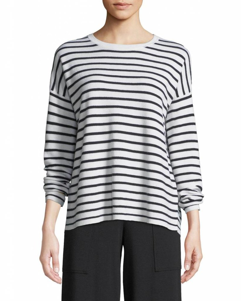 Eileen Fisher Org. Cotton Striped Top