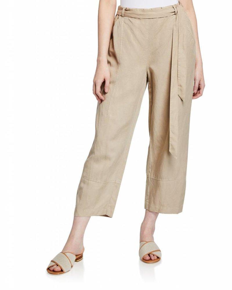 Eileen Fisher Tencel Linen Lantern Ankle Pant