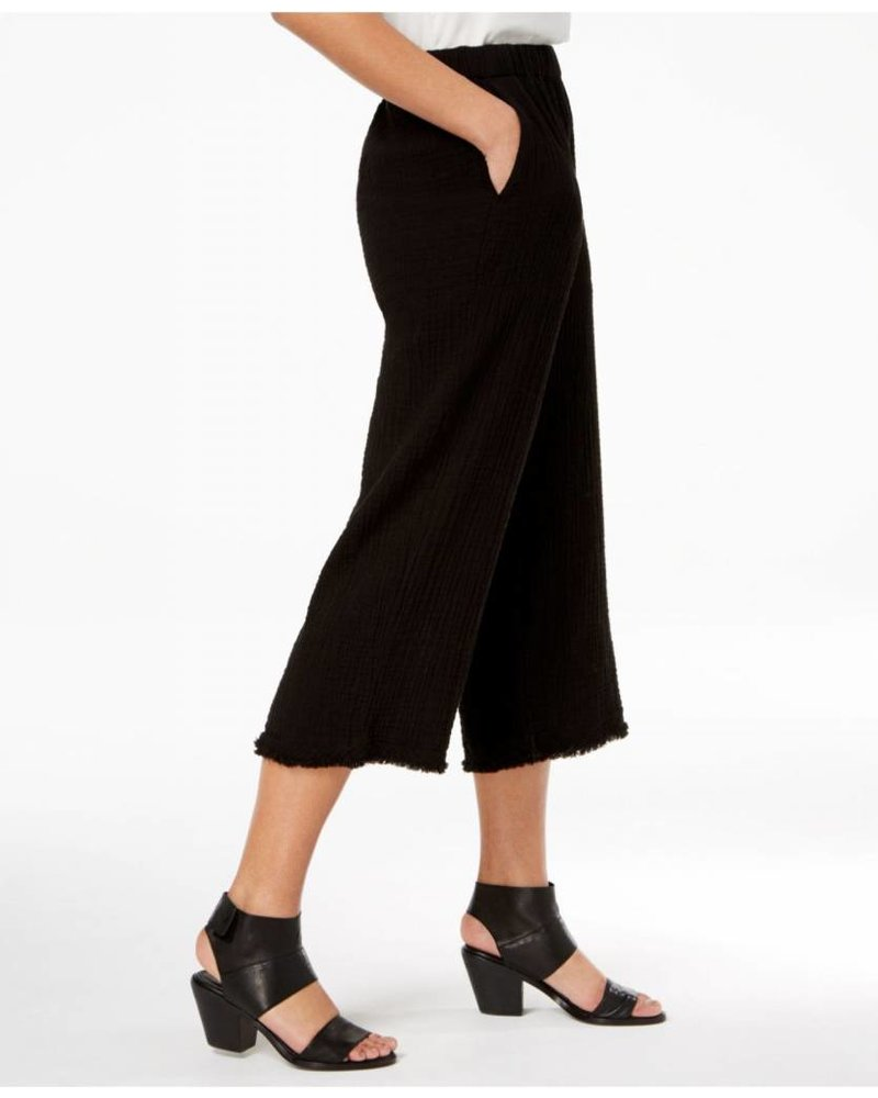Eileen Fisher Organic Cotton Lofty Gauze Cropped Pant