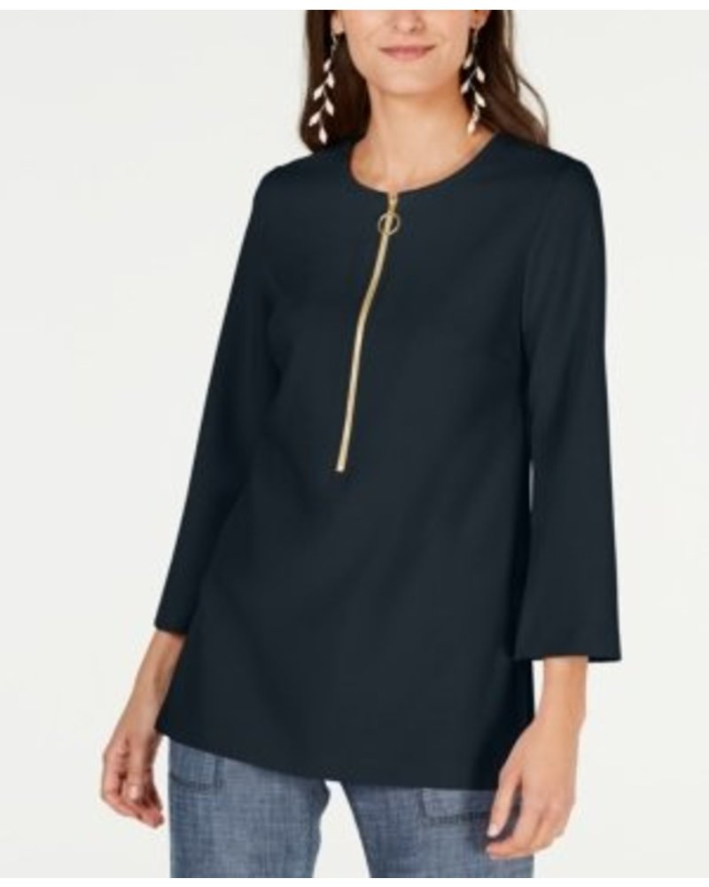 Trina Turk Versed Zipper Top