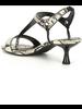 Donald Pliner Python Print Kitten Heel