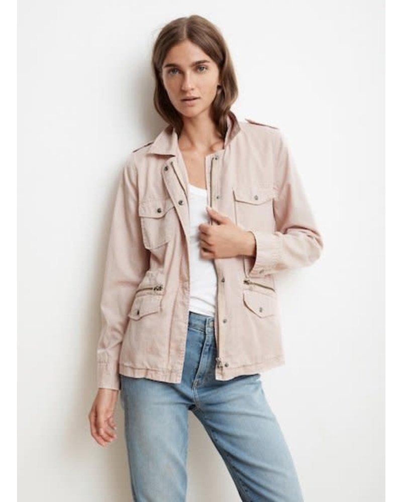 Velvet Cotton Twill Jacket