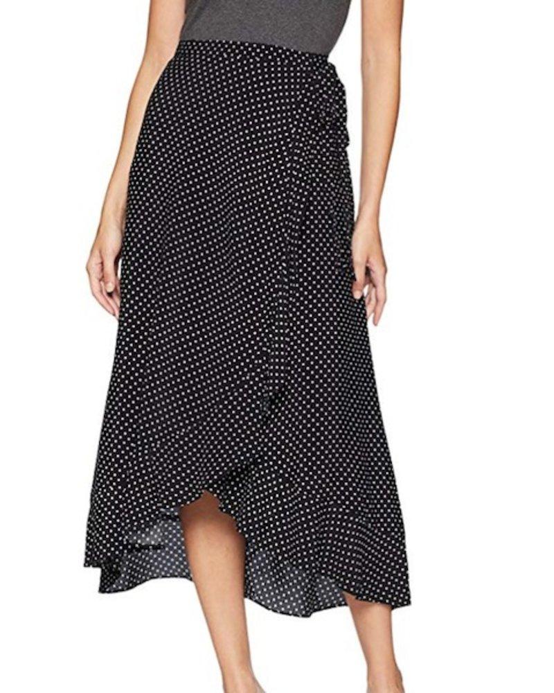 ad7c8ced8d2 Dot Printed Crepe Skirt - Walla Walla Clothing Company