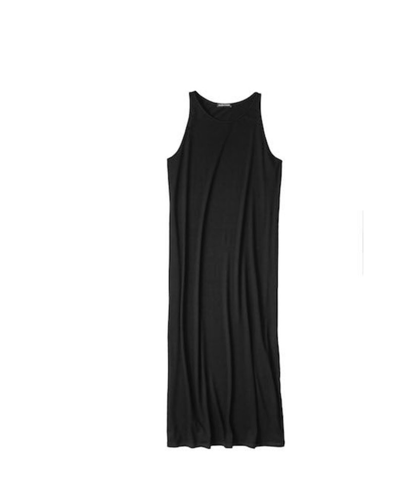 Eileen Fisher Viscose Jersey Full Length Dress