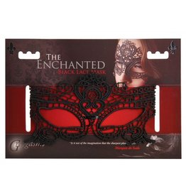 XR Brands The Enchanted Black Lace Mask