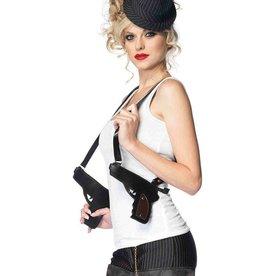 Leg Avenue Gangster Double Gun Zipper Holster