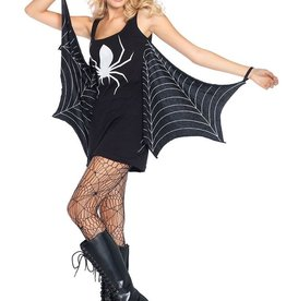 Leg Avenue Jersey Spiderweb Dress