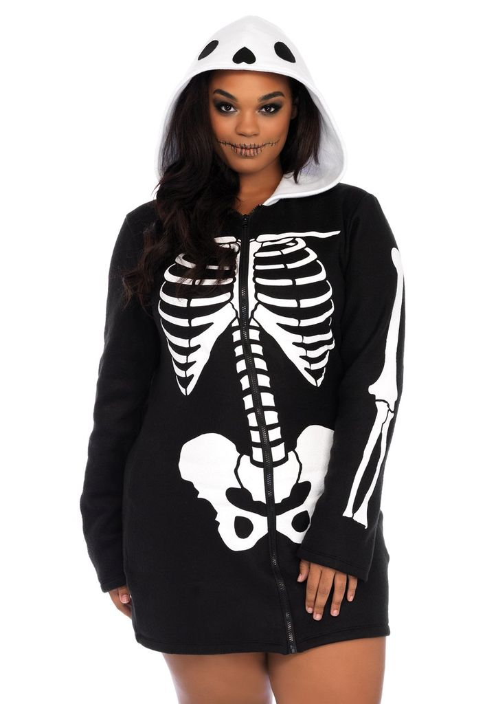 Leg Avenue Cozy Skeleton 1X/2X