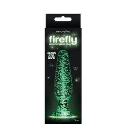 N.S.Novelties Firefly Tapered Glass Plug