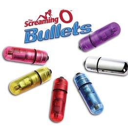 Screaming O Bullets Blue