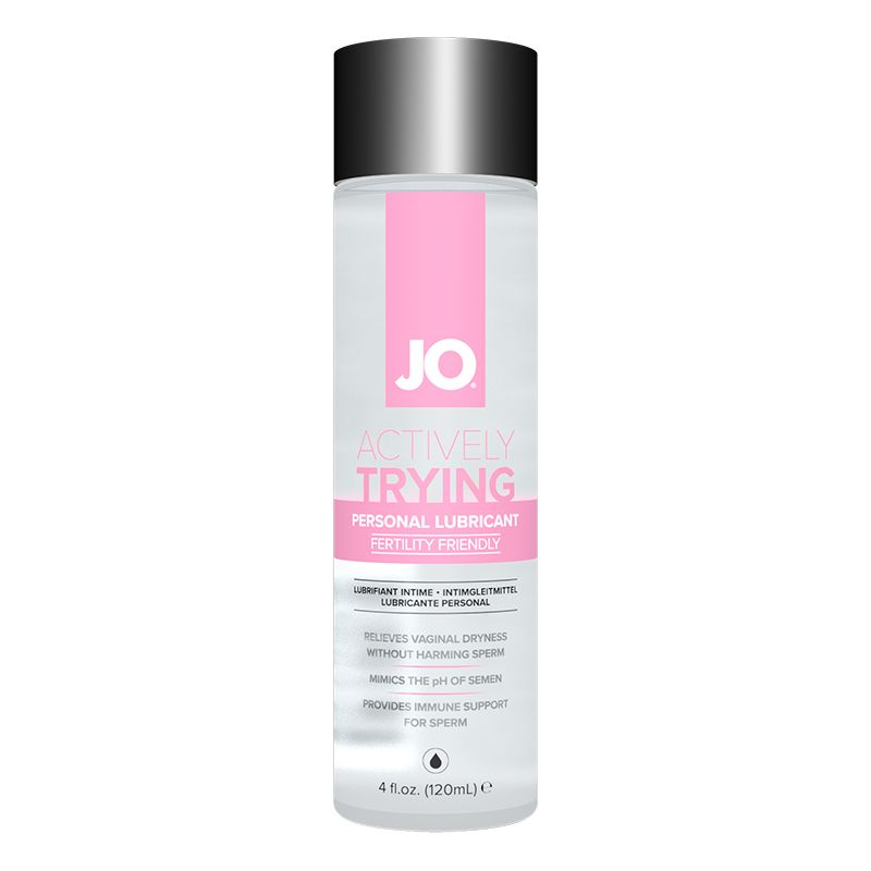 Jo System Activly Trying Lubricant