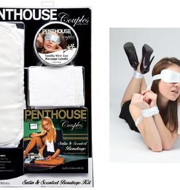 Topco Sales Penthouse Satin And Scented Bondage Kit